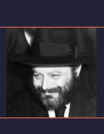 An image of the Rebbe circa 1950