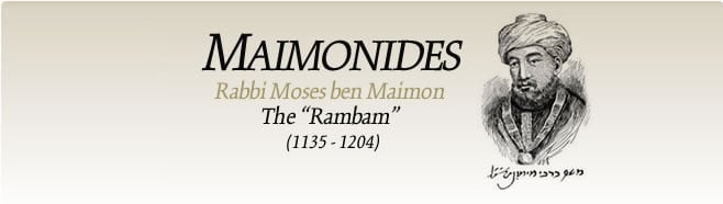The Life and Works of Moses Maimonides